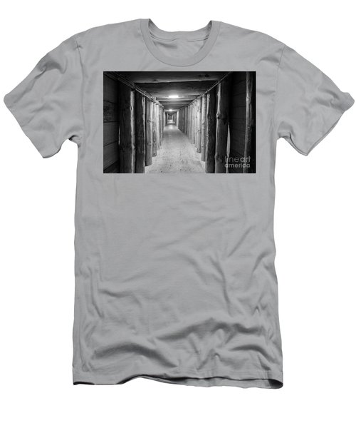 Men's T-Shirt (Slim Fit) featuring the photograph Empty Corridor by Juli Scalzi