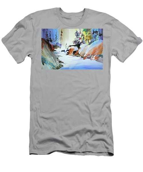 Enchanted Wilderness Men's T-Shirt (Slim Fit) by P Anthony Visco