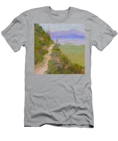 End Of Day At Gates Pass Men's T-Shirt (Slim Fit) by Susan Woodward