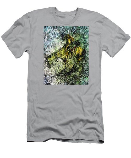 End Of The Trail 5 Men's T-Shirt (Slim Fit) by Ayasha Loya