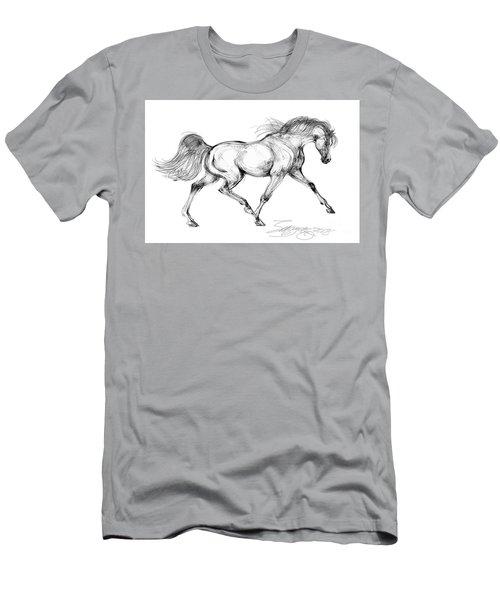 Endurance Horse Men's T-Shirt (Athletic Fit)
