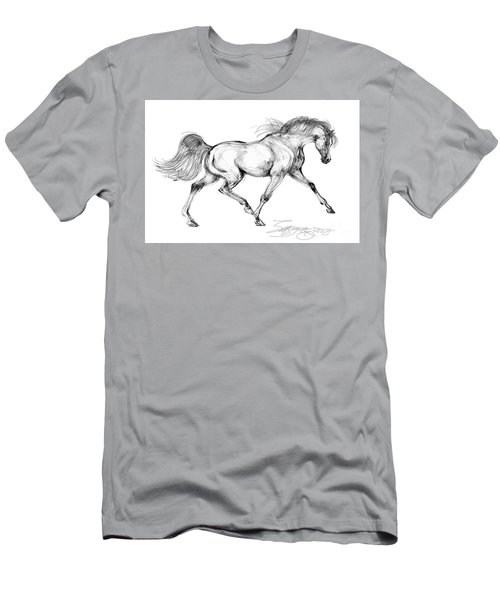 Endurance Horse Men's T-Shirt (Athletic Fit)
