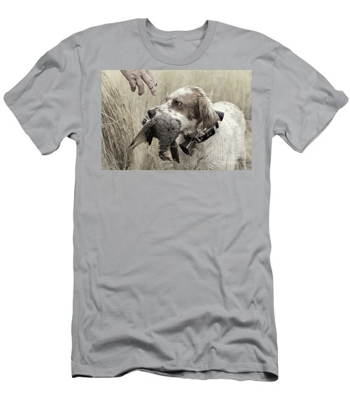 English Setter And Hungarian Partridge - D003092a Men's T-Shirt (Athletic Fit)