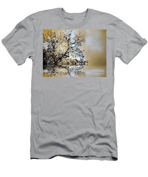 Entangled Men's T-Shirt (Slim Fit) by Elfriede Fulda