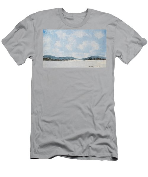 Entrance To Moulters Lagoon From Bathurst Harbour Men's T-Shirt (Athletic Fit)