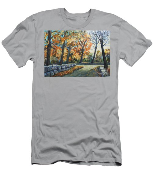 Entrance To The Greenhouse Men's T-Shirt (Athletic Fit)