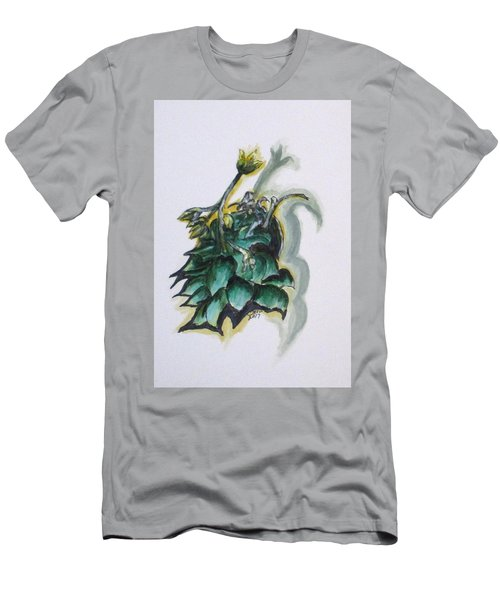 Erika's Spring Plant Men's T-Shirt (Slim Fit) by Clyde J Kell