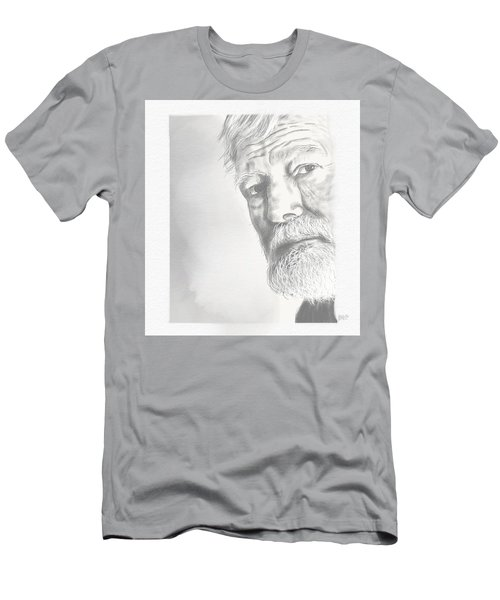 Ernest Hemingway Men's T-Shirt (Athletic Fit)