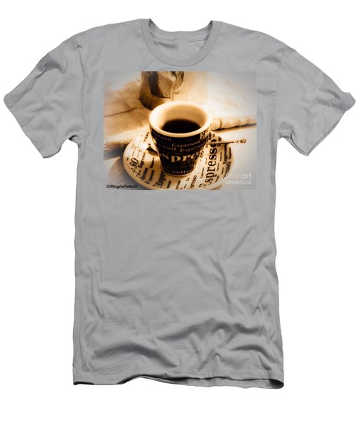 Espresso Anyone Men's T-Shirt (Athletic Fit)