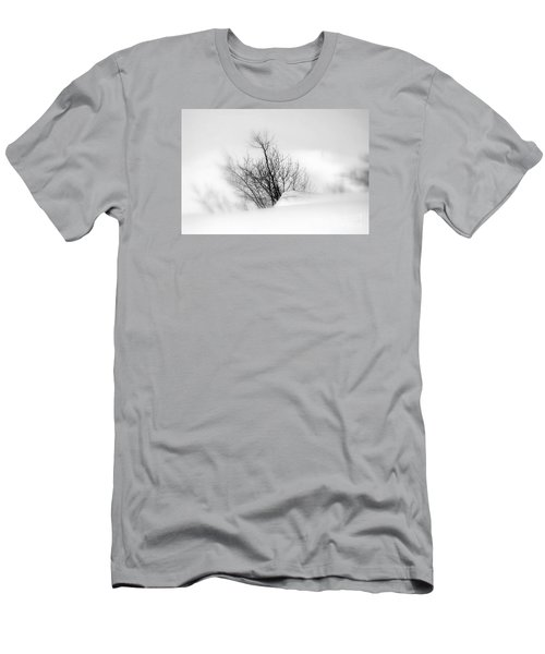 Men's T-Shirt (Slim Fit) featuring the photograph Essence Of Winter by Elfriede Fulda