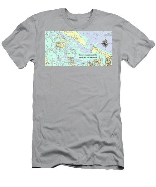 Essex River Detail Men's T-Shirt (Athletic Fit)