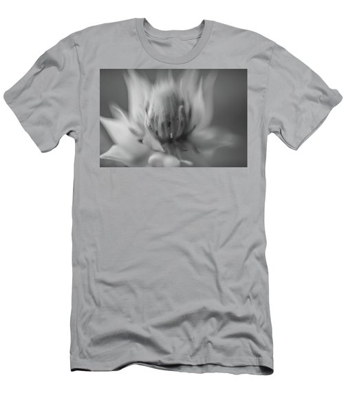 Ethereal In Black And White Men's T-Shirt (Athletic Fit)