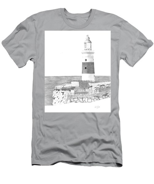 Europa Point Lighthouse Men's T-Shirt (Athletic Fit)