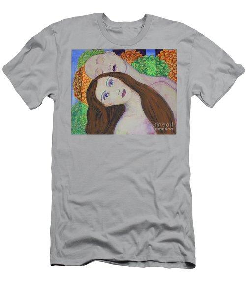 Eve Emerges Men's T-Shirt (Athletic Fit)