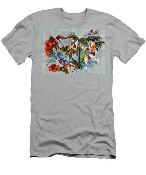 Even Leopards Love The Music Men's T-Shirt (Athletic Fit)