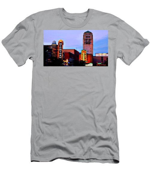 Evening In Ann Arbor Men's T-Shirt (Athletic Fit)