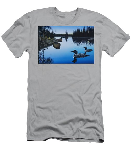 Evening Loons Men's T-Shirt (Athletic Fit)