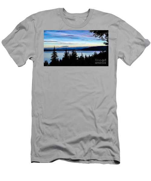 Men's T-Shirt (Slim Fit) featuring the photograph Evening Sky by William Wyckoff