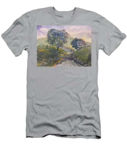 Evening Stroll In Millington Dale Men's T-Shirt (Athletic Fit)
