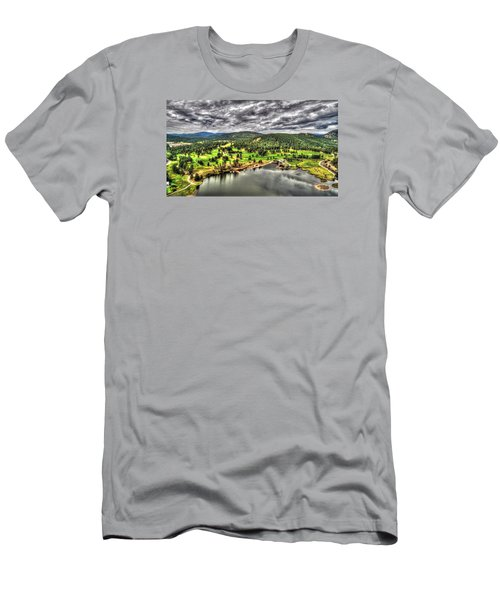 Evergreen Lake And Golf Course Men's T-Shirt (Athletic Fit)