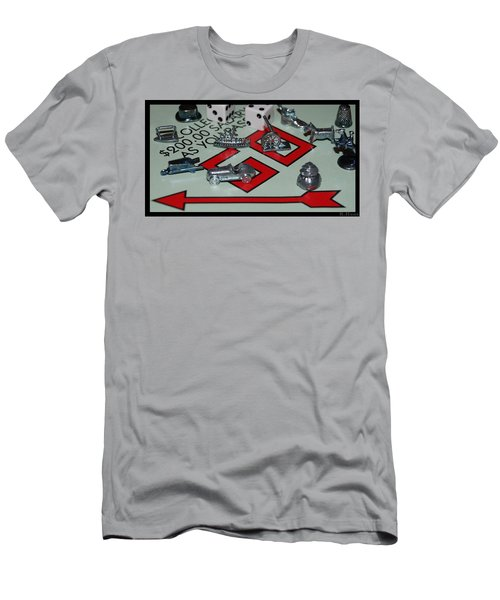 Everyone Pass Go Men's T-Shirt (Slim Fit) by Rob Hans