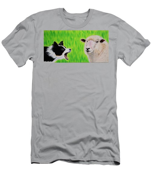 Ewe Talk'in To Me? Men's T-Shirt (Athletic Fit)