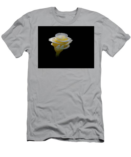 Exotic White Bloom Men's T-Shirt (Athletic Fit)