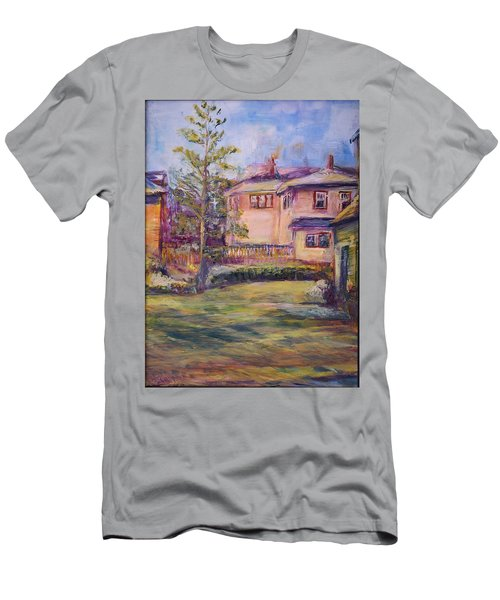 Upstairs Window Men's T-Shirt (Athletic Fit)