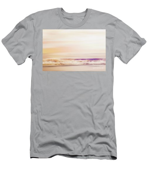 Expression - Dreams On The Shore Men's T-Shirt (Slim Fit) by Janie Johnson
