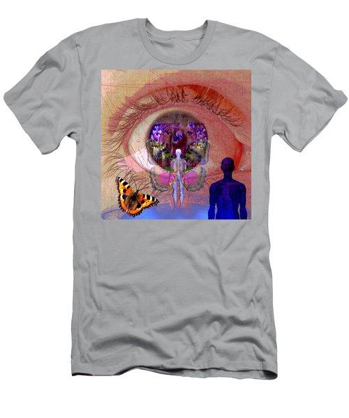 Eye Solar Men's T-Shirt (Slim Fit) by Joseph Mosley