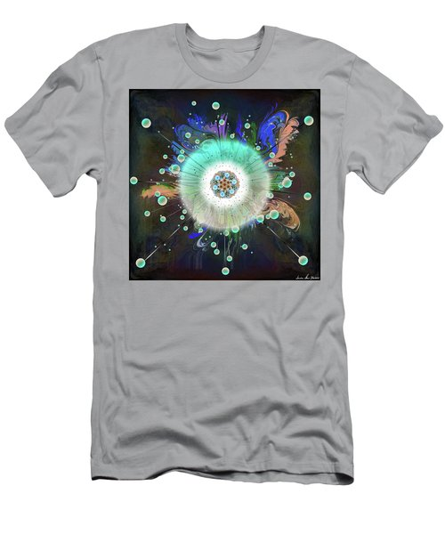 Men's T-Shirt (Athletic Fit) featuring the digital art Eye Know Dark Two by Iowan Stone-Flowers