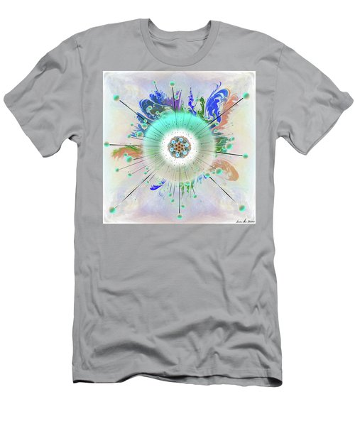 Men's T-Shirt (Athletic Fit) featuring the digital art Eye Know Light Two by Iowan Stone-Flowers