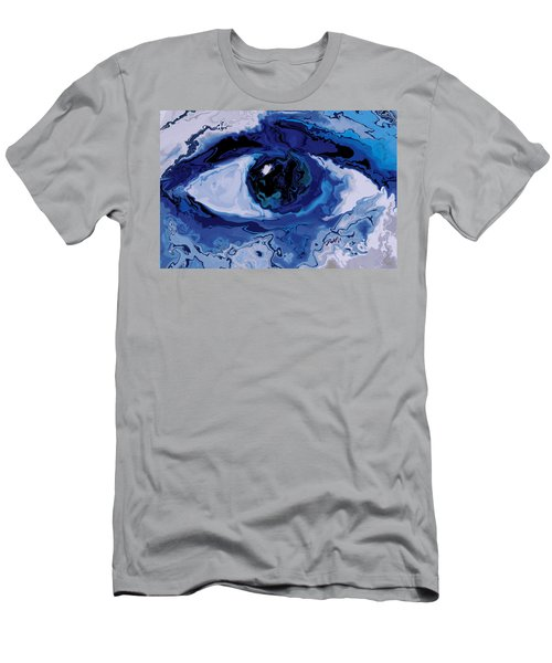 Men's T-Shirt (Slim Fit) featuring the digital art Eye by Rabi Khan