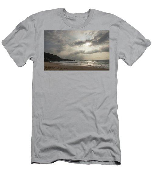 Eye To Eye Men's T-Shirt (Slim Fit) by Alex Lapidus