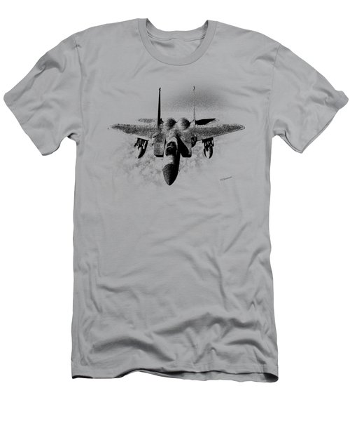 F-15c Eagle Front View Art  Men's T-Shirt (Athletic Fit)