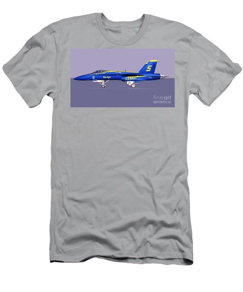 F18 Super Hornet Men's T-Shirt (Athletic Fit)