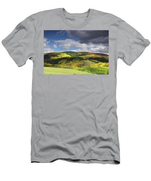Faafallscene105 Men's T-Shirt (Athletic Fit)