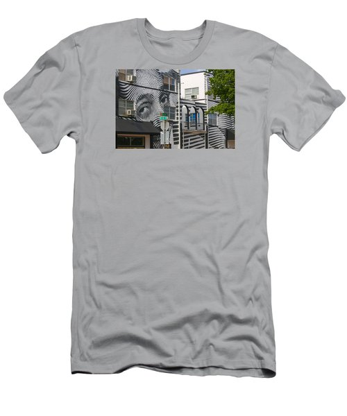 Face On House Men's T-Shirt (Athletic Fit)