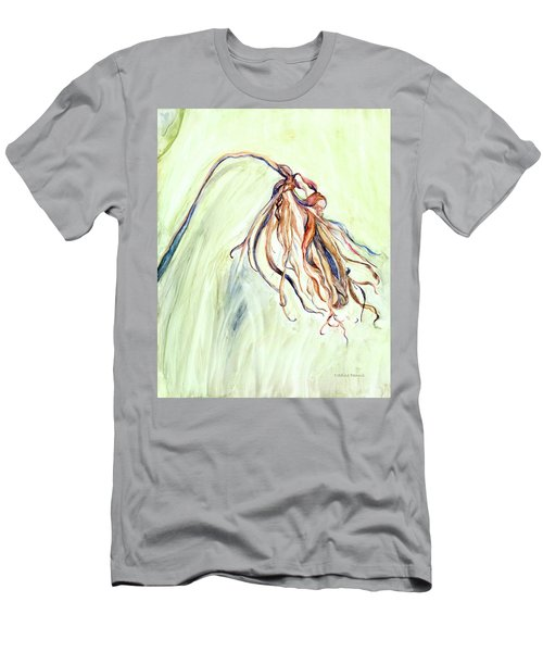 Men's T-Shirt (Slim Fit) featuring the painting Faded by Nadine Dennis
