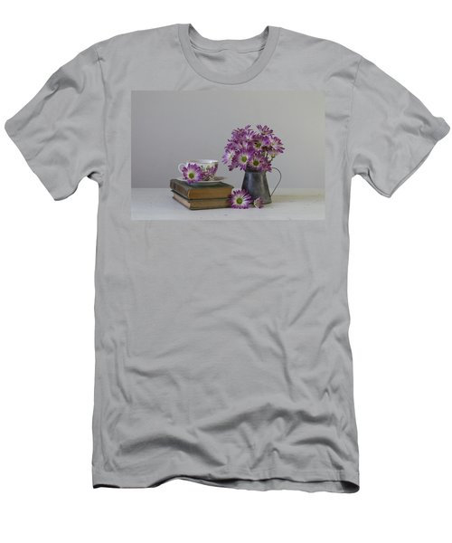 Men's T-Shirt (Athletic Fit) featuring the photograph Fading Memories by Kim Hojnacki