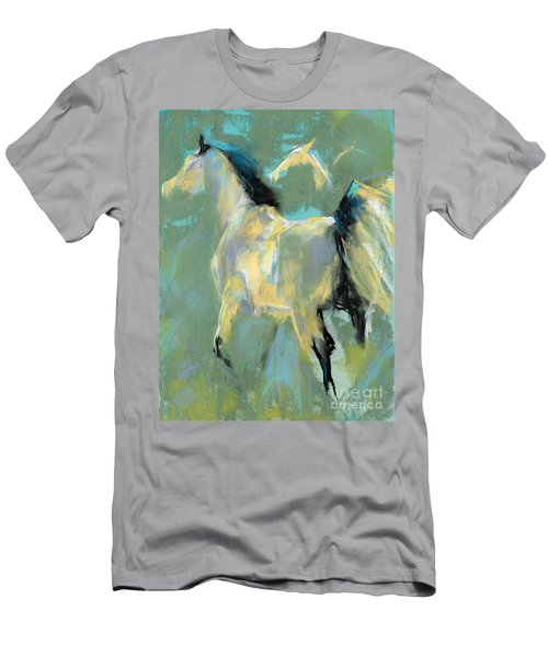 Fading Out To Three Men's T-Shirt (Slim Fit) by Frances Marino