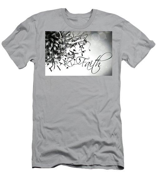 Faith Men's T-Shirt (Slim Fit) by Bobby Villapando