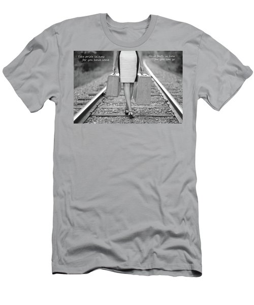 Faith In Your Journey Men's T-Shirt (Athletic Fit)