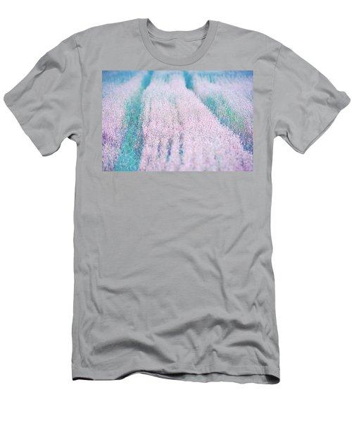 Men's T-Shirt (Slim Fit) featuring the photograph Fall Field by Ari Salmela