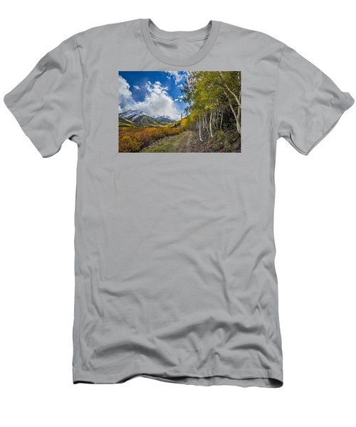 Men's T-Shirt (Athletic Fit) featuring the photograph Fall In Colorado by Wesley Aston