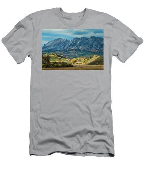 Fall In Gunnison County Men's T-Shirt (Slim Fit) by Dana Sohr
