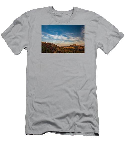 Fall Skies Men's T-Shirt (Athletic Fit)