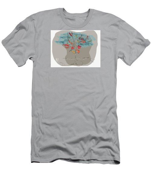 Fall To Peaces Men's T-Shirt (Slim Fit) by Jason Nicholas