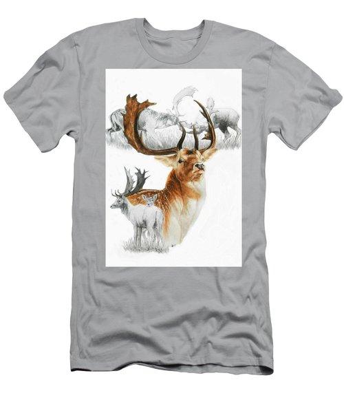 Fallow Deer Men's T-Shirt (Athletic Fit)