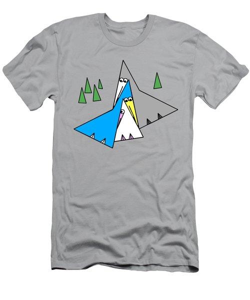 Family Men's T-Shirt (Slim Fit) by Susan Eileen Evans